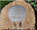 SJ8990 : Memorial to those who died in the Stockport Air Disaster by Gerald England