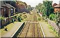 SJ3165 : Hawarden station, view southward, 1999 by Ben Brooksbank