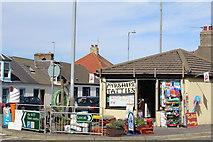 NX1896 : Doune Burn Stores, Girvan by Leslie Barrie