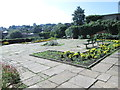 SE2634 : Terraced Garden - Gotts Park by Betty Longbottom