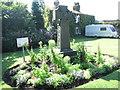 SE2634 : Commemoration Stone - Gotts Park by Betty Longbottom