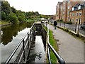 SJ9495 : Sluice gates on the Peak Forest Canal by Gerald England