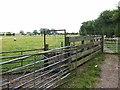 NZ3502 : Livestock pen, Salutation Farm by Oliver Dixon