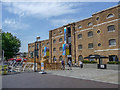 TQ3780 : North Dock, Canary Wharf, London by Christine Matthews