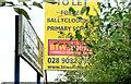 J4161 : Former Ballycloughan Primary School near Saintfield (2013-2) by Albert Bridge