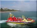 SZ0890 : Bournemouth: Shockwave speedboat by Chris Downer