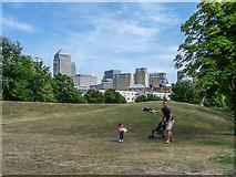 TQ3680 : Ropemakers Field, Limehouse, London by Christine Matthews