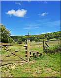 SE8493 : Gate & Stile - Hole of Horcum by Scott Robinson