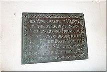 TQ1649 : St Martin, Dorking: memorial (g) by Basher Eyre