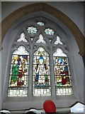 TQ1649 : St Martin, Dorking: stained glass window (M) by Basher Eyre