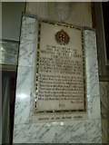 TQ1649 : St Martin, Dorking: memorial (l) by Basher Eyre