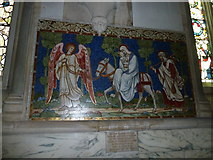 TQ1649 : St Martin, Dorking: memorial (n) by Basher Eyre