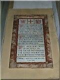 TQ1649 : St Martin, Dorking: chapel dedications by Basher Eyre
