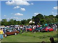 SK6723 : Old Dalby Day 2013 - classic car display by Richard Green