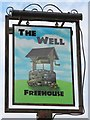 ST9458 : The Well sign by Oast House Archive
