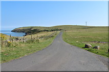 NX1430 : Road to Mull of Galloway Lighthouse by Billy McCrorie