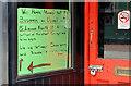 "J3374 : Former ""Tivoli"" barber's shop, Belfast (2) by Albert Bridge"