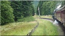 SE8191 : Approach to Levisham Station by Richard Cooke