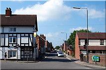 SK1846 : Station Road, Ashbourne, Derbys. by David Hallam-Jones