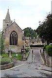ST8260 : Holy Trinity Church & Church Street by Oast House Archive