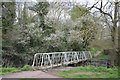 SP0666 : Footbridge over the Arrow, leading to Ipsley Church Lane, Redditch by Robin Stott