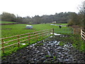 SS9974 : Muddy access to a field gate from Constitution Hill, Cowbridge by Jaggery