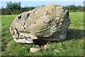 """NX9479 : Cup marks on one of the """"Twelve Apostles"""" stones by Bob Embleton"""