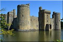 TQ7825 : Bodiam Castle by David Martin