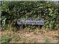 TG2700 : Sewell's Lane sign by Geographer