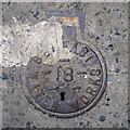 J3373 : Belfast Water Works cover, Belfast by Rossographer