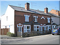 SP0365 : Terraced houses, north end of Evesham Road, Headless Cross, Redditch by Robin Stott
