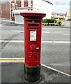 SJ8891 : GR postbox SK4 61 by Gerald England