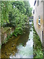 TQ2865 : River Wandle from Mill Lane by Marathon