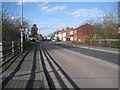 SP0366 : Evesham Road crosses Bromsgrove Highway, Headless Cross, Redditch by Robin Stott