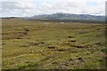 NH1477 : Moorland north of Meall an t-Sithe by Dorothy Carse