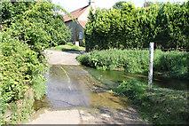 TF0117 : Church Lane ford by Richard Croft