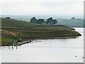 NY9422 : Anglers on Grassholme Reservoir by Oliver Dixon