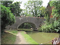SP4645 : Canal Bridge 154, Oxford Canal by Les Hull