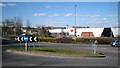 SP0466 : Roundabout south of superstores, Smallwood, Redditch by Robin Stott
