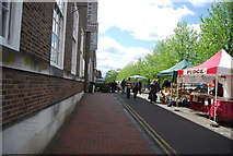 TQ5839 : Farmers Market by N Chadwick