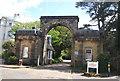 TQ5839 : Victoria Gate by N Chadwick