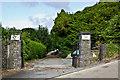 SN6081 : Cemetery entrance by Ian Capper