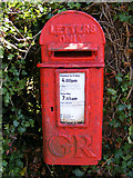 TM2890 : The Corner George V Postbox by Adrian Cable