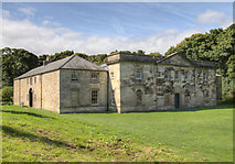 NZ1758 : The Stables, Gibside by David P Howard