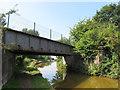 SJ7559 : Wheelock Rail Train bridge by Stephen Craven