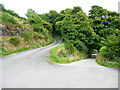 SE0126 : Hairpin bend on Hebden Royd Bridleway 30 by Humphrey Bolton