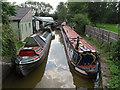 SJ7659 : Malkins Bank boatyard by Stephen Craven