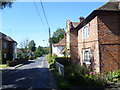 TR0650 : The Street, Godmersham looking towards Ashford Road by Marathon