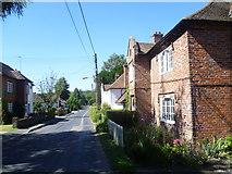 TR0650 : The Street, Godmersham looking towards Ashford Road by Marathon