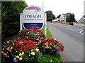 H4772 : Omagh, County Town of Tyrone board by Kenneth  Allen